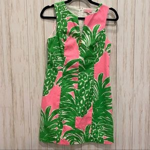 Lilly Pulitzer Pineapple Shift Dress